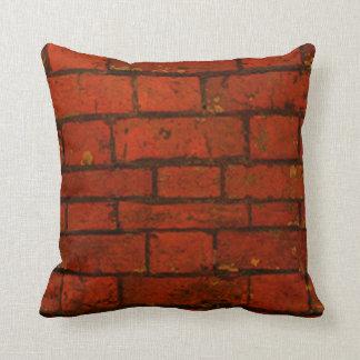 Brick design pillow
