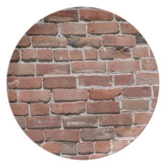 Brick Design Plate