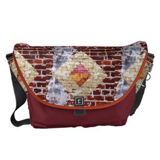 Brick Diamond Messenger Bag