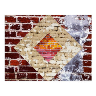 Brick Diamond Postcard