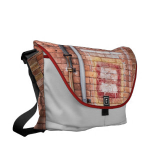 Brick downpipes messenger bag