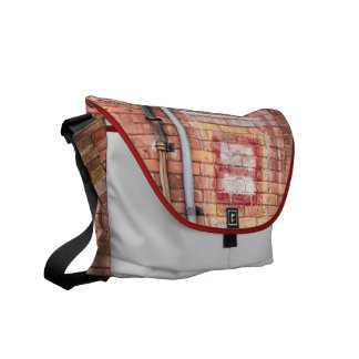 Brick downpipes courier bag