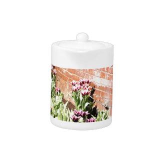 Brick Garden Teapot