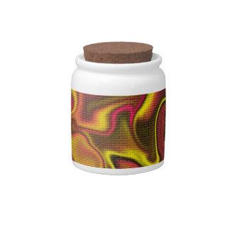 Brick Glow Colors Candy Jars