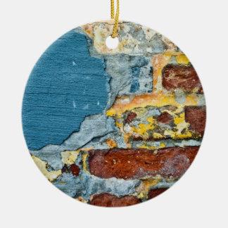 Brick Grunge Ornament