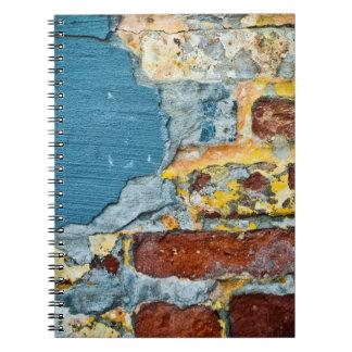 Brick Grunge Texture Notebook