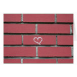 Brick Heart Card