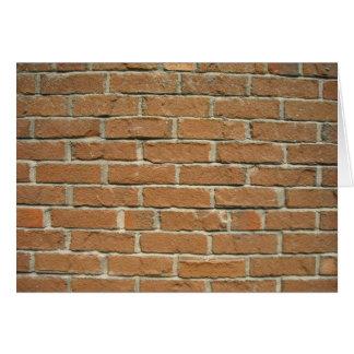 Brick House Card
