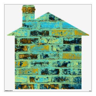 Brick House Wall Decal