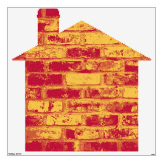 Brick House Wall Sticker