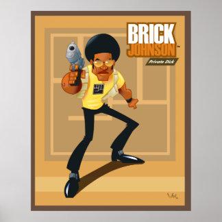 Brick Johnson. Private Dick! Poster