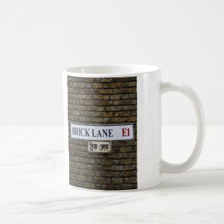 Brick Lane E1 Sign London Mug