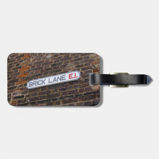 Brick Lane - London - Street Sign - Luggage Tag