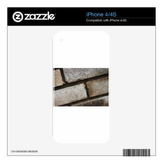 Brick lay background iPhone 4 decals