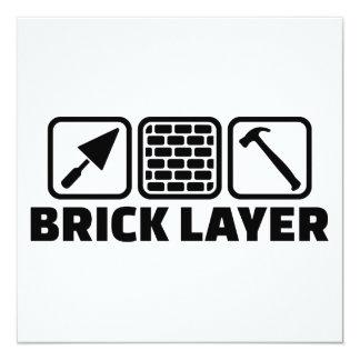 Brick layer card