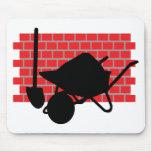 brick layer gear mouse mats