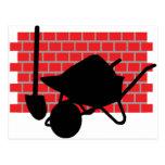 brick layer gear postcard