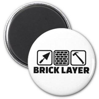 Brick layer magnet