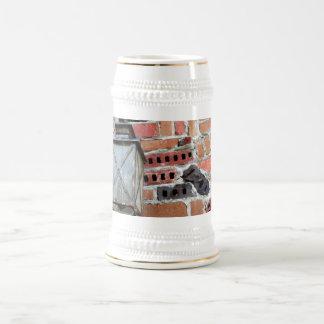 Brick Light Beer Stein