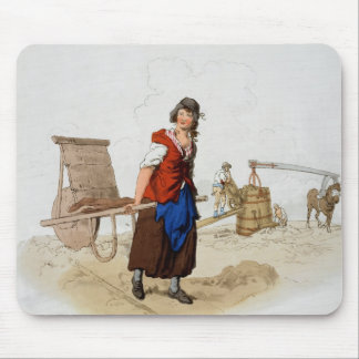Brick Maker, from 'Costume of Great Britain', publ Mouse Pad