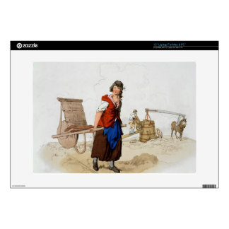 """Brick Maker, from 'Costume of Great Britain', publ Skins For 15"""" Laptops"""