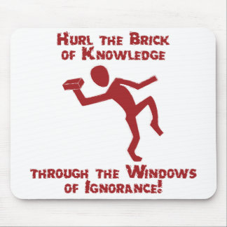 Brick Of Knowledge Mouse Pad