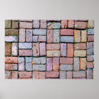 Brick Path Poster