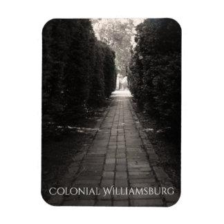 Brick Pathway Rectangular Photo Magnet