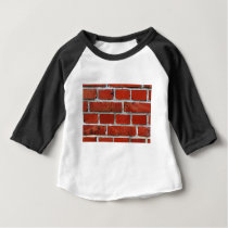 Brick Pattern Baby T-Shirt