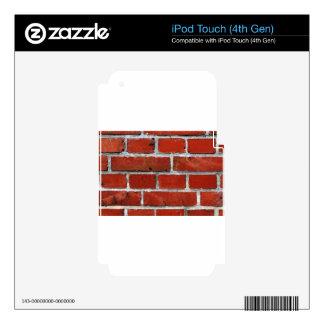 Brick Pattern iPod Touch 4G Skin