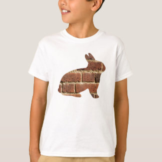 Brick Pattern Rabbit Shirt