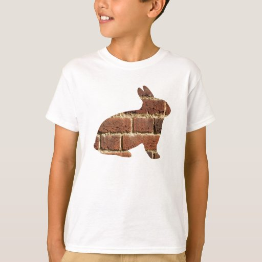 Brick Pattern Rabbit Shirt