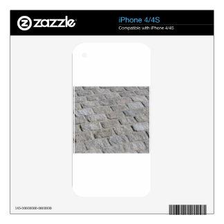 brick pavement iPhone 4S decals