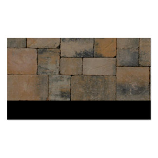 Brick Pavers Double-Sided Standard Business Cards (Pack Of 100)