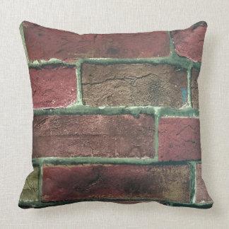 Brick Print Pillow