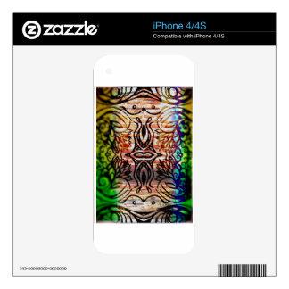 brick rainbow life iPhone 4S decals