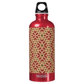 Brick Red Diamond Water Bottle