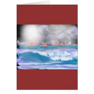 brick seascape-1 card