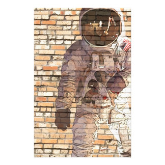 Brick Spaceman Stationery