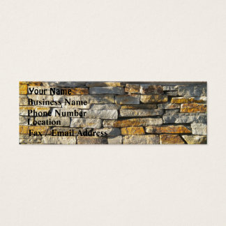 Brick/Stone Business Card