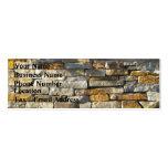 Brick/Stone Business Card