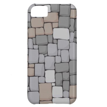 brick, stone, wall case for iPhone 5C