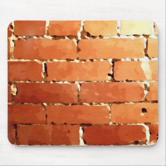 Brick texture mouse pad