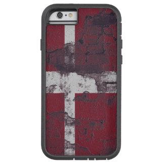 Brick Textured Denmark Flag Iphone 6 Tough Case