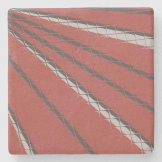 Brick Tile Mirage Coaster by John Oven