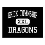 Brick Township - Dragons - High - Brick New Jersey Post Card