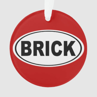 Brick Township New Jersey Ornament