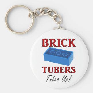 Brick Tubers Tubes Up Keychain