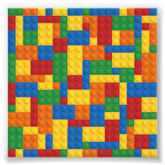 Brick Vector Graphic COLOURFUL RECTANGLES SQU Photo Art
