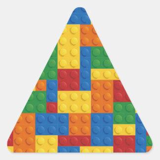 Brick Vector Graphic COLOURFUL RECTANGLES SQU Triangle Sticker